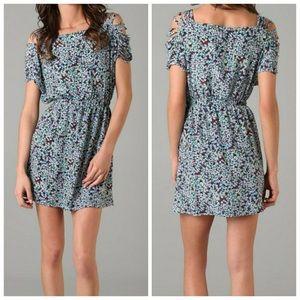 Anthropologie Funktional 100% silk floral dress